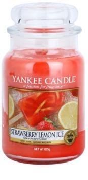 Yankee Candle Strawberry Lemon Ice candela profumata 623 g Classic grande