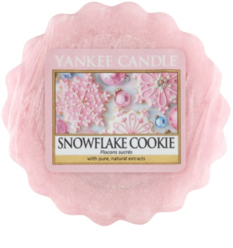 Yankee Candle Snowflake Cookie wosk zapachowy 22 g