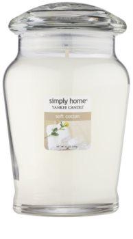 Yankee Candle Soft Cotton vela perfumado 340 g intermédio