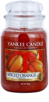 Yankee Candle Spiced Orange dišeča sveča  623 g Classic velika