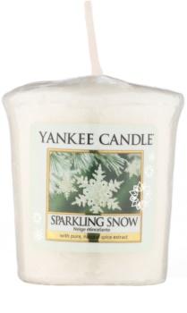 Yankee Candle Sparkling Snow vela votiva 49 g