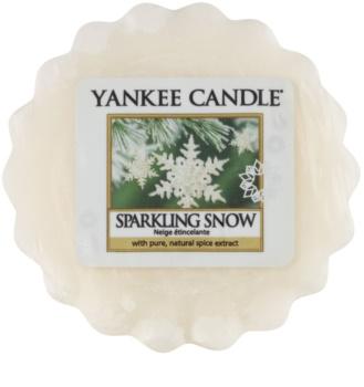 Yankee Candle Sparkling Snow illatos viasz aromalámpába 22 g
