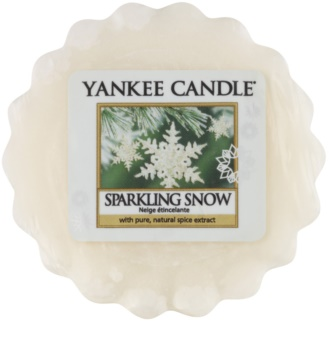 Yankee Candle Sparkling Snow vosak za aroma lampu