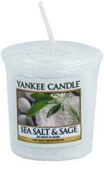 Yankee Candle Sea Salt & Sage votivní svíčka 49 g