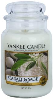 Yankee Candle Sea Salt & Sage ароматизована свічка  623 гр Classic велика