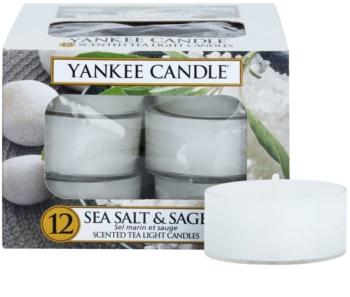 Yankee Candle Sea Salt & Sage vela do chá 12 x 9,8 g