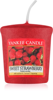 Yankee Candle Sweet Strawberry Votiefkaarsen 49 gr