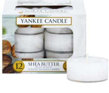 Yankee Candle Shea Butter świeczka typu tealight 12 x 9,8 g