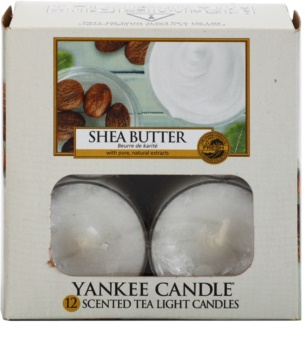 Yankee Candle Shea Butter teamécses 12 x 9,8 g