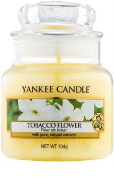 Yankee Candle Tobacco Flower vela perfumado 104 g Classic pequeno