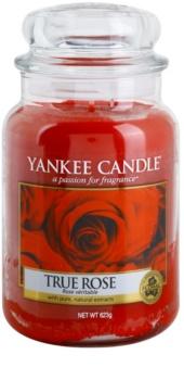 Yankee Candle True Rose Αρωματικό κερί 623 γρ Κλασικό μεγάλο