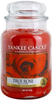 Yankee Candle True Rose vonná sviečka 623 g Classic veľká