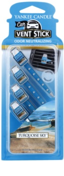 Yankee Candle Turquoise Sky Car Air Freshener 4 pc
