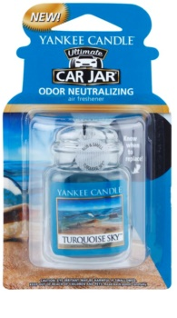 Yankee Candle Turquoise Sky Car Air Freshener   hanging
