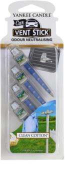 Yankee Candle Clean Cotton Car Air Freshener 4 kpl