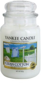 Yankee Candle Clean Cotton Duftkerze  623 g Classic groß