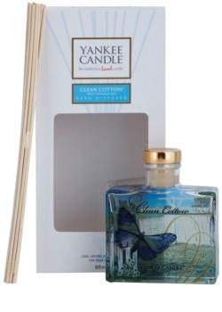 Yankee Candle Clean Cotton diffusore di aromi con ricarica 88 ml Signature