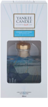 Yankee Candle Clean Cotton diffusore di aromi con ricarica 88 ml Signature