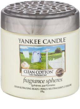 Yankee Candle Clean Cotton perlas aromáticas 170 g