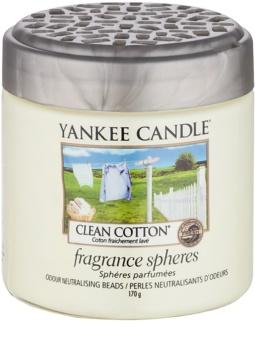 Yankee Candle Clean Cotton pérolas aromáticas 170 g