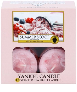 Yankee Candle Summer Scoop Tealight Candle 12 x 9,8 g