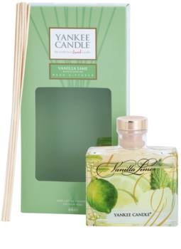 Yankee Candle Vanilla Lime aroma diffuser with filling Signature 88 ml