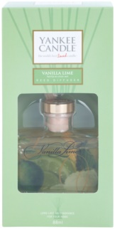 Yankee Candle Vanilla Lime aroma difuzér s náplní 88 ml Signature