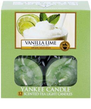 Yankee Candle Vanilla Lime świeczka typu tealight 12 x 9,8 g