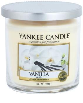 Yankee Candle Vanilla vela perfumado 198 g Décor pequena