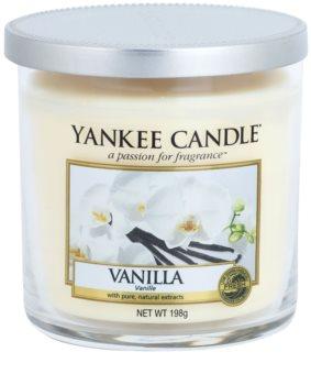 Yankee Candle Vanilla vonná sviečka 198 g Décor malá