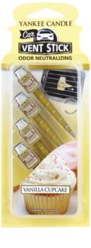 Yankee Candle Vanilla Cupcake Auto luchtverfrisser  4 st