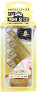 Yankee Candle Vanilla Cupcake Car Air Freshener 4 pc