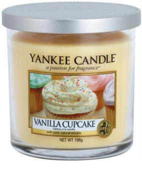 Yankee Candle Vanilla Cupcake vonná svíčka 198 g Décor malá