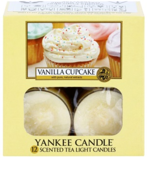 Yankee Candle Vanilla Cupcake чайні свічки 12 x 9,8 гр