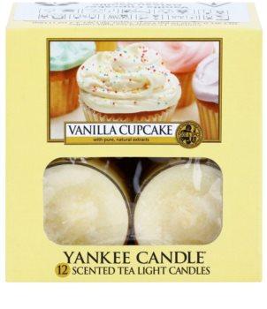 Yankee Candle Vanilla Cupcake čajová sviečka 12 x 9,8 g
