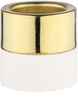 Yankee Candle White Wood & Metal Hölzerner Kerzenhalter für Teelichter