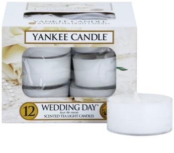 Yankee Candle Wedding Day čajová sviečka 12 x 9,8 g