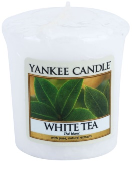 Yankee Candle White Tea votívna sviečka 49 g