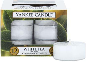 Yankee Candle White Tea bougie chauffe-plat 12 x 9,8 g