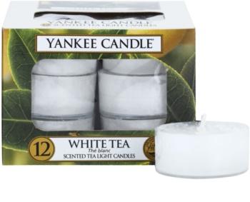 Yankee Candle White Tea lumânare 12 x 9,8 g