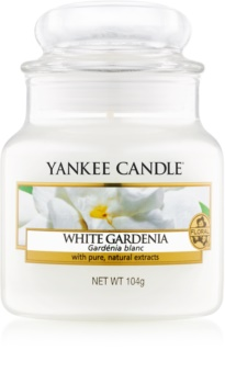 Yankee Candle White Gardenia vonná svíčka 104 g Classic malá