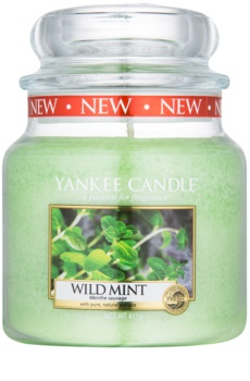Yankee Candle Wild Mint bougie parfumée 411 g Classic moyenne