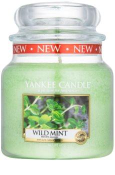 Yankee Candle Wild Mint vonná sviečka 411 g Classic stredná