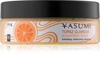 Yasumi Body Care Topaz Glamour mehčalni piling za telo