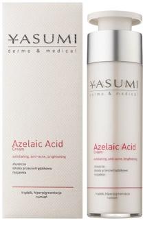 Yasumi Dermo&Medical Azelaic Acid creme apaziguador para uma pele sensível propensa a acne