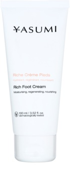 Yasumi Body Care Creme für trockene und rissige Fußsohlen mit nahrhaften Effekt