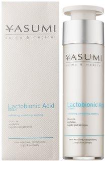 Yasumi Dermo&Medical Lactobionic Acid Hautcreme für empfindliche Haut mit der Neigung zum Erröten