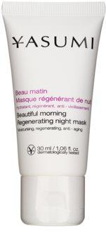 Yasumi Anti-Wrinkle maschera notte rigenerante effetto lisciante