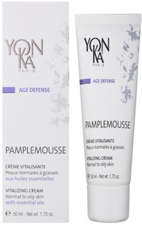 Yon-Ka Age Defense Grapefruit revitalisierende Creme für normale bis fettige Haut