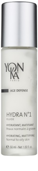 Yon-Ka Age Defense N°1 feuchtigkeitsspendendes Fluid mit Matt-Effekt für normale bis fettige Haut